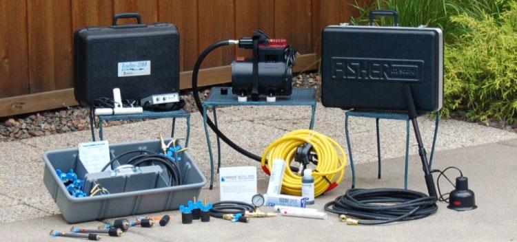 Fisher Pool Leak Detection Kit